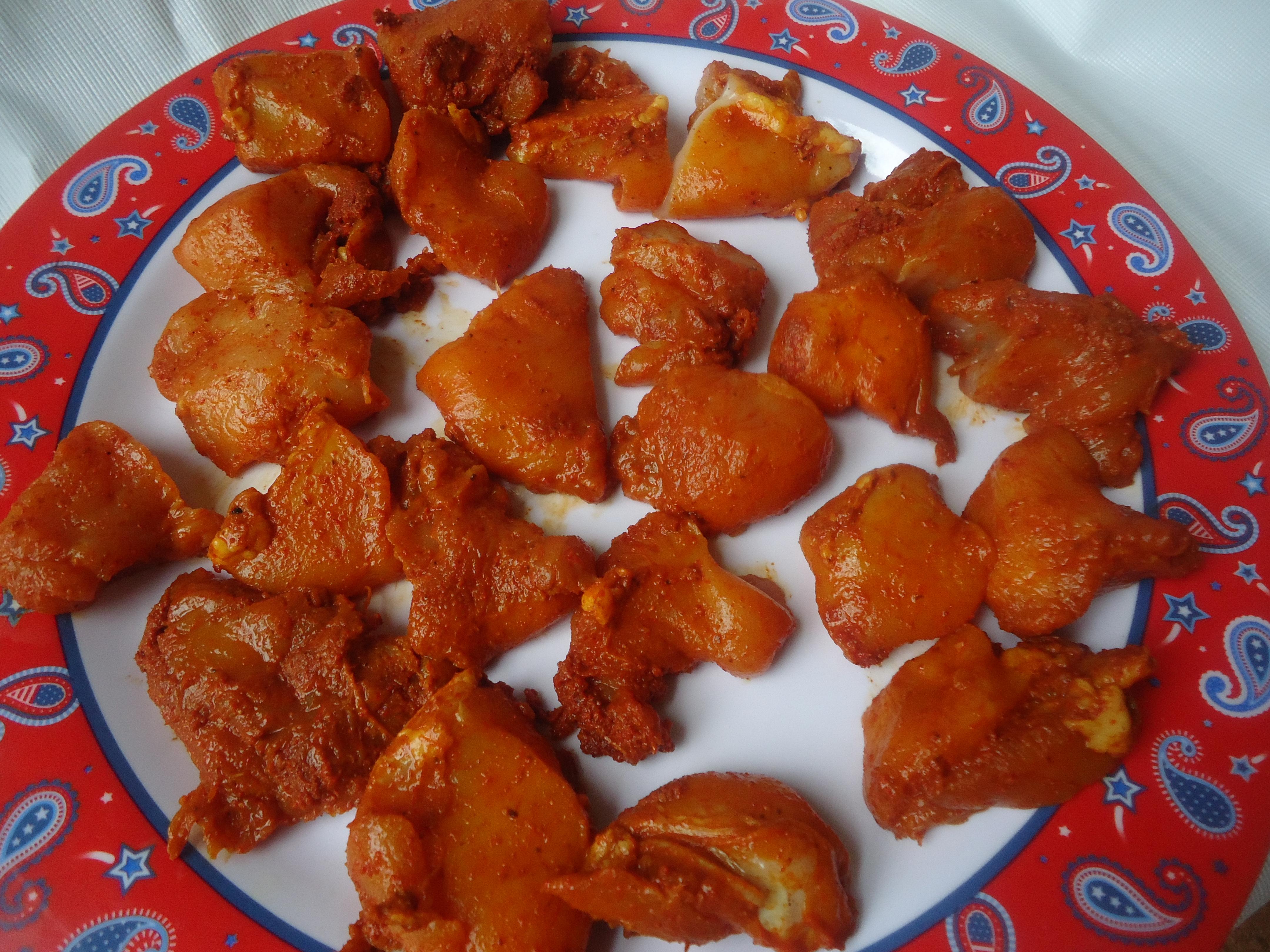 My Southern Flavours Tamilnadu Style Chicken 65 Spicy