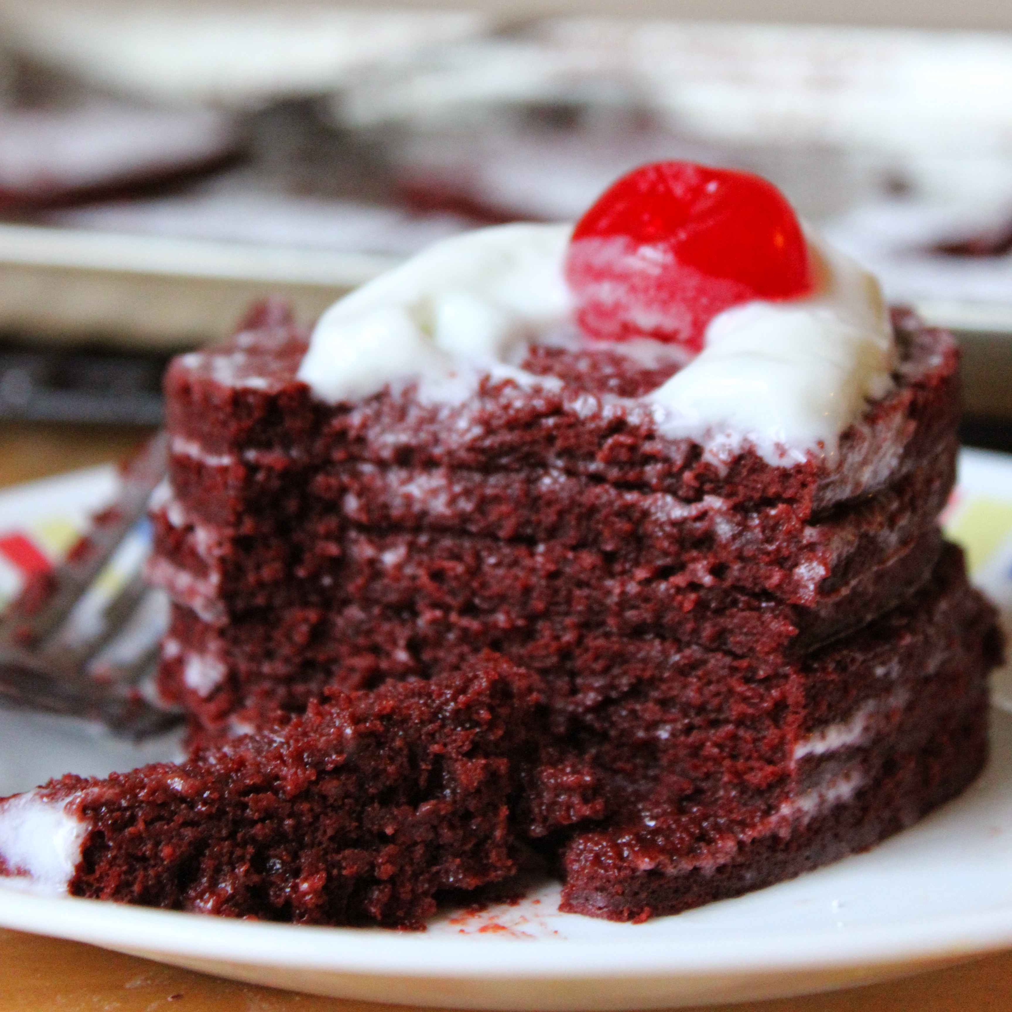 Red Velvet Sheet cake / Valentin's Day Special Layered Red Velvet ...